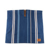 Poncho - Japanese Cotton/Wool Selvedge - Indigo/White Stripe