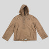 Indigofera Parka - Beige Waxed Canvas
