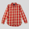 Jepson Shirt - Brick Plaid