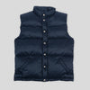 Joe McCoy Nylon Down Vest - Navy