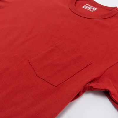 Joe McCoy Pocket Tee - Red