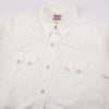 Joe McCoy White Denim Western Shirt