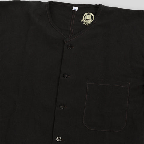 Junk Force Advisor Shirt - Black Linen