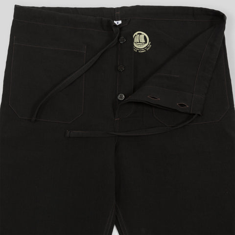 Junk Force Advisor Trousers - Black Linen