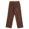 Silk Tweed Trousers - Brown HBT