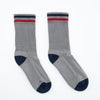 Kennedy Lux Athletic Sock - Grey