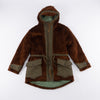 Kodiac Fur Coat - Brown