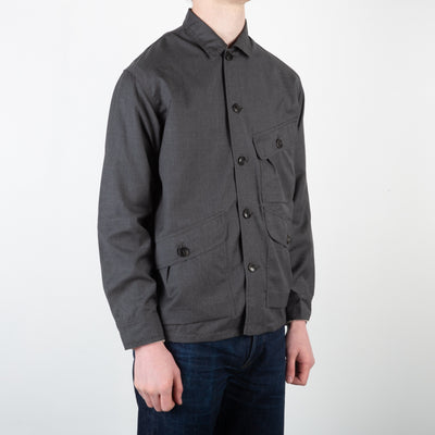 Kodiak Jacket - Anthracite Tactical Wool