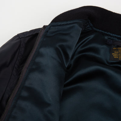 Type L-2A Flight Jacket Real McCoy Mfg. Co Jacket - Navy