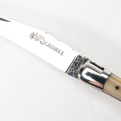 Laguiole Knife - Blonde Horn