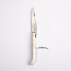 Laguiole Knife - Camel Bone w/ Corkscrew