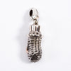 Large Bero Peanuts Pendant / Key Ring - Silver x 10K Gold
