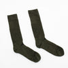 Light Cushion Mid-Calf Boot Sock - Foliage Green