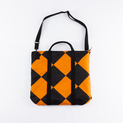 The Real McCoy's Linecrew Helmet Bag - Orange/Black - Standard & Strange
