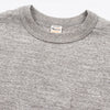 Slub Cotton Pocket Tee - Heather Gray