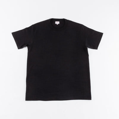 Loopwheeled Athletic Tee - Black