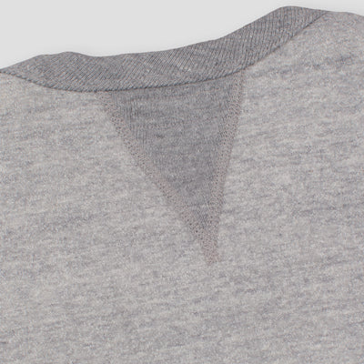 The Real McCoy's Loopwheel Crewneck Sweatshirt - Gray