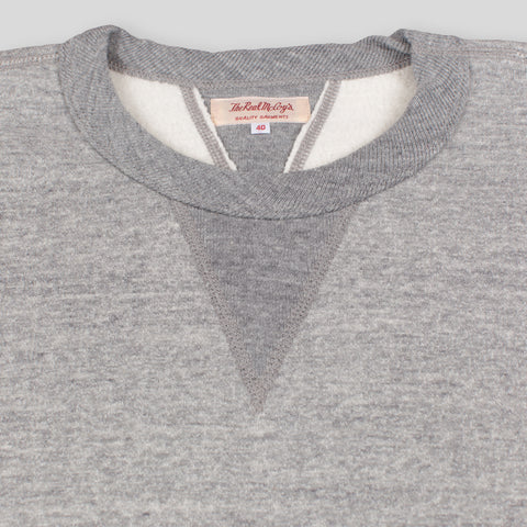 The Real McCoy's Loopwheel Crewneck Sweatshirt - Grey