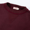 Loopwheel Sweatshirt - Bordeaux