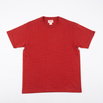 Loopwheeled Athletic Tee - Cherry BC19009