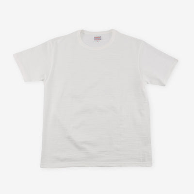 Loopwheeled Athletic Tee - Milk MC19029