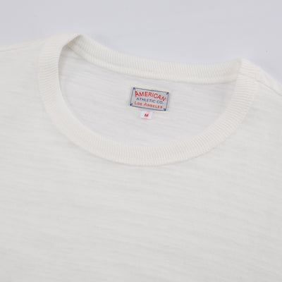 Loopwheeled Athletic Tee - Milk