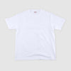 Loopwheeled Athletic Tee - White