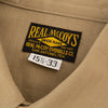 The Real McCoy's M-38 Khaki Shirt - Standard & Strange