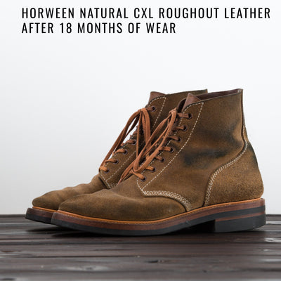 [Pre-order for September 2020 delivery] M-43 Service Boots - Natural CXL