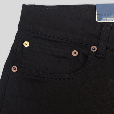 M1 Slim Fit - Black/Black Rinsed