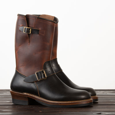 Engineer Boot - Black CXL + Timber CXL