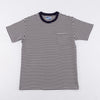Marine Stripe Pocket Tee - White / Navy