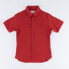 Marshall Islander Shirt - Barn Yard Red Belgian Linen