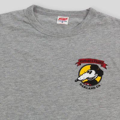Mickey Rat x S&S Tee - Grey