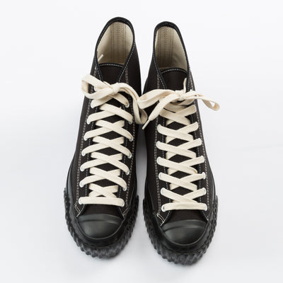 Military Canvas Training Shoes - Black