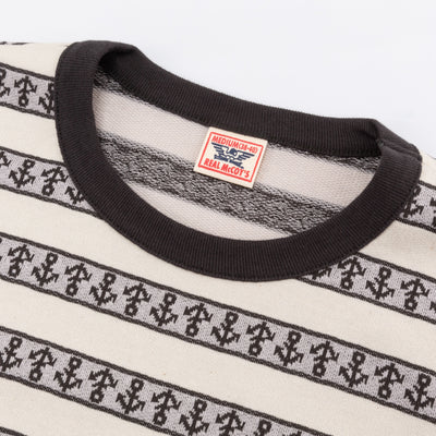 Military Jacquard Tee - Anchor