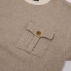 Military Pocket Sweatshirt - Oatmeal