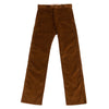 "Continental Trousers - ""Rive Gauche"" Brown Corduroy"