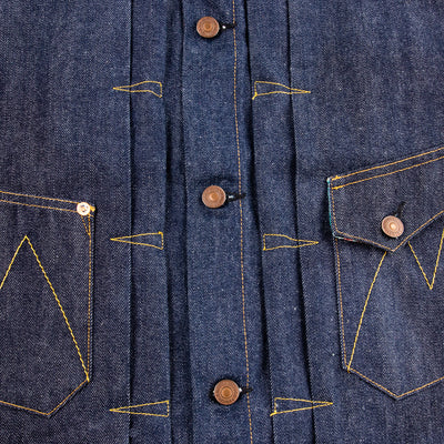 Ranch Blouse - SC66 Denim