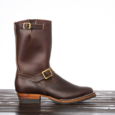 Mister Lou Engineer Boot - Brown Horsehide