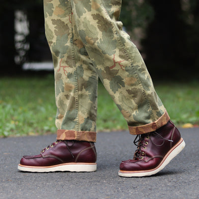 [Pre-order for February 2020 delivery] Moc Toe Boot - Burgundy CXL