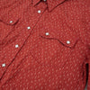 Modern Western Shirt - Redwood