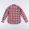 Modern Western Shirt - True Red Jacquard