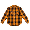 Work Shirt - Mustard Herringbone Check