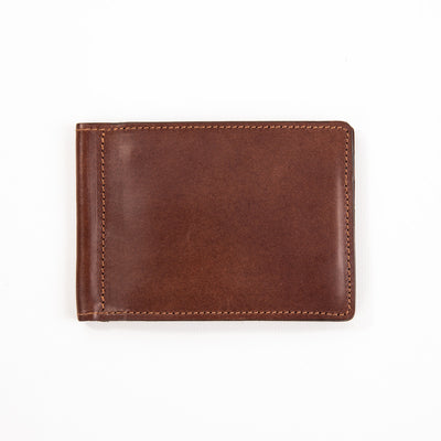 Money Clip - Mocha Buttero Leather