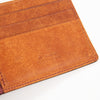 Money Clip - Wine Red Buttero Leather