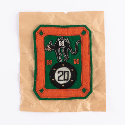 NNN 20 Cat & Pool Ball Patch