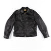 The Real McCoy's Nelson 30s Sports Jacket - Black Horsehide - Standard & Strange