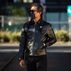 Nelson 30s Sports Jacket - Black Horsehide