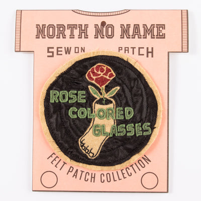 Rose Colored Glasses Patch